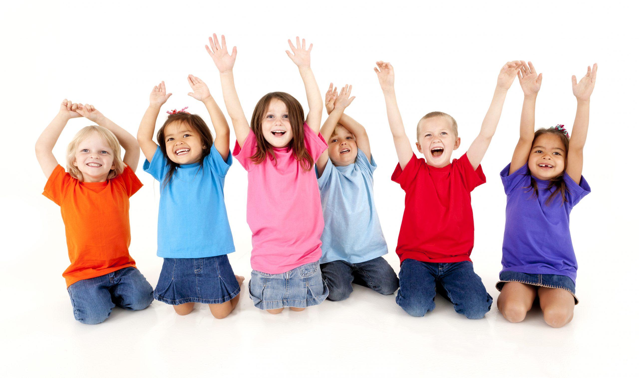 Ergotherapie glückliche Kinder